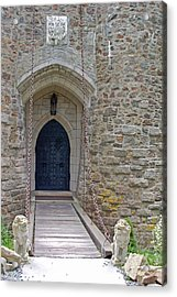 Castle Entrance Acrylic Print by Suzanne Gaff