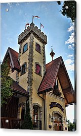 Castle Frankenmuth Acrylic Print by Chris Fleming