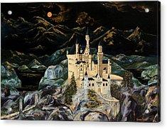 Castle Acrylic Print by Gwen Rose