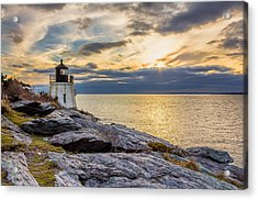 Castle Hill Light Hdr Acrylic Print