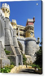 Castle In Color Acrylic Print