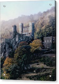 Acrylic Print featuring the photograph Castle In The Mist by Jim Hill