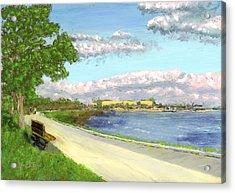 Castle Island - Summer Acrylic Print