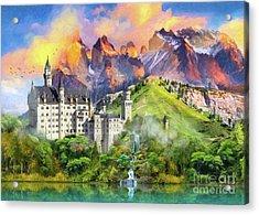 Castle Magic Acrylic Print
