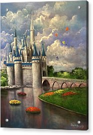 Castle Of Dreams Acrylic Print