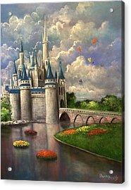 Castle Of Dreams Acrylic Print