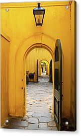 Castle Of Good Hope Interior Acrylic Print