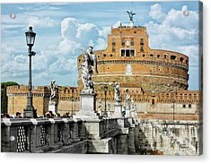 Castle Of The Holy Angel Acrylic Print