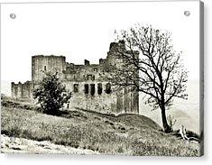 Castle On High Acrylic Print