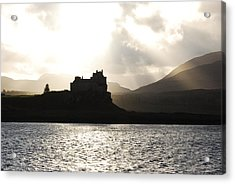 Castle On Scotland's Inner Hebridean Islands Acrylic Print by Kelsey Horne