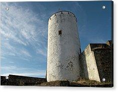 Acrylic Print featuring the photograph Castle Reifferscheid - Nationalpark Eifel Germany by Urft Valley Art