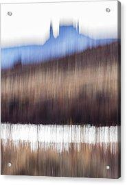 Castle Rock And Colorado River Acrylic Print