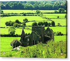 Castle Ruins Countryside Acrylic Print