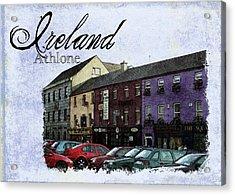 Castle Square Athlone Ireland Acrylic Print