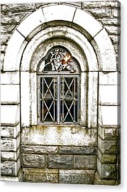 Castle Window Acrylic Print