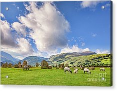 Acrylic Print featuring the photograph Castlerigg Stone Circle by Colin and Linda McKie
