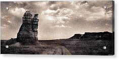Acrylic Print featuring the photograph Castles Of Wonder Revisited by Thomas Bomstad