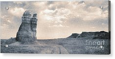 Acrylic Print featuring the photograph Castles Of Wonder by Thomas Bomstad