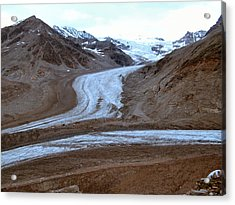 Acrylic Print featuring the photograph Castner Glacier by Adam Owen