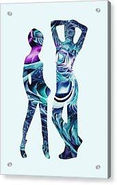 Casual Acrylic Print