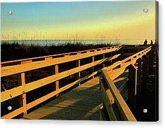 Caswell Sunset Acrylic Print