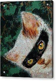 Cat Burglar Acrylic Print by Michael Creese