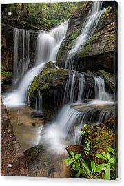 Cat Gap Loop Trail Waterfall Acrylic Print