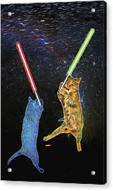 Cat Wars Episode Ix Acrylic Print