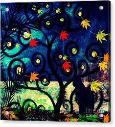 Cat Watch  Acrylic Print
