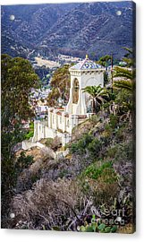 Catalina Chimes Tower On Catalina Island Acrylic Print by Paul Velgos