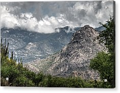Catalina Mountains Acrylic Print by Tam Ryan