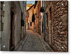 Acrylic Print featuring the photograph Catalonia - The Town Of Sitges 006 by Lance Vaughn