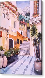Catania Acrylic Print by Leah Wiedemer