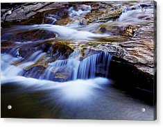 Cataract Falls Acrylic Print by Chad Dutson