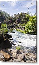 Cataract George Landscape In Launceston Tasmania Acrylic Print