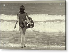 Catch A Wave Acrylic Print by JAMART Photography