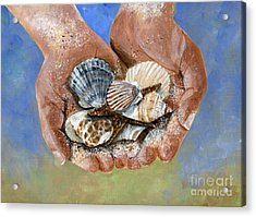 Catch Of The Day Acrylic Print by Sheryl Heatherly Hawkins