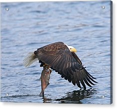Catch Of The Day...for Both Of Us Acrylic Print by Gerry Sibell