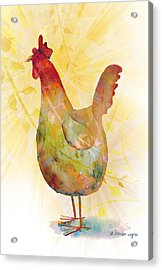 Catching Some Rays Acrylic Print by Arline Wagner