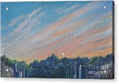 Catching The Sunset Acrylic Print by Penny Neimiller
