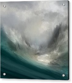 Catching Waves Acrylic Print
