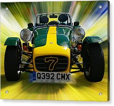 Caterham 7 Acrylic Print