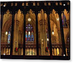 Acrylic Print featuring the photograph Cathedral Arches by Jessica Jenney
