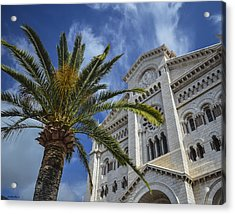 Acrylic Print featuring the photograph Cathedral At Monte Carlo by Allen Sheffield