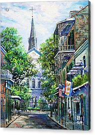 Cathedral At Orleans Acrylic Print by Dianne Parks