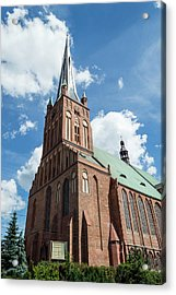 Cathedral Basilica Of St. James The Apostle, Szczecin A Acrylic Print