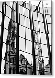 Cathedral Acrylic Print by Brendon Bradley