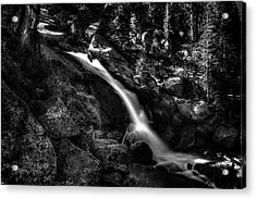 Cathedral Falls From The Tioga Pass Road Acrylic Print