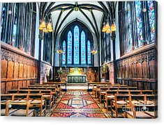 Cathedral Glow Acrylic Print