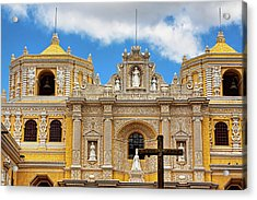 Cathedral In Antigua, Guatemala Acrylic Print